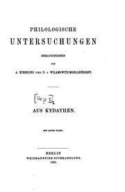 Cover of: Aus Kydathen