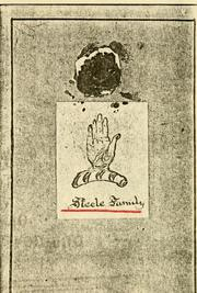 Cover of: Steele family
