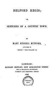 Cover of: Belford Regis; or, Sketches of a country town