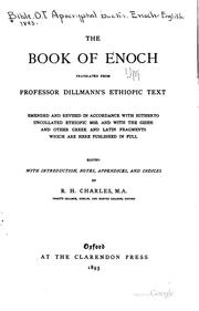 Cover of: The book of Enoch