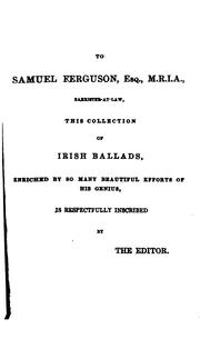 Cover of: The book of Irish ballads
