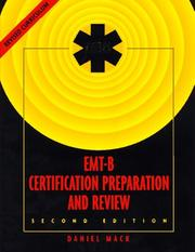 Cover of: The Jems EMT-B certification preparation and review
