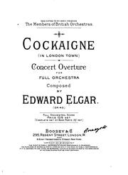 Cover of: Cockaigne (In London town) concert overture