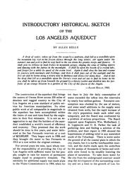Cover of: Complete report on construction of the Los Angeles aqueduct by Los Angeles. Board of public service commissioners