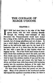 Cover of: The courage of Marge O'Doone