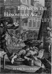 Cover of: Britain in the Hanoverian age, 1714-1837 |