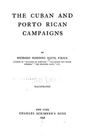 Cover of: The Cuban and Porto Rican campaigns