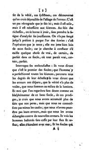 Cover of: De la verité
