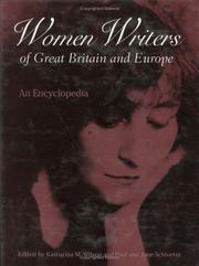 Cover of: Women writers of Great Britain and Europe