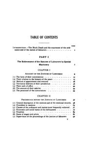 Cover of: The enforcement of the statutes of labourers during the first decade after black death, 1349-1359