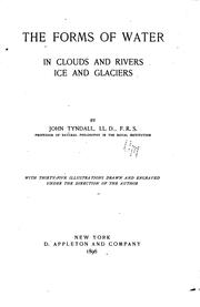 Cover of: The forms of water in clouds and rivers
