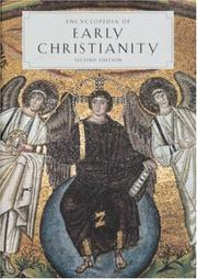 Cover of: Encyclopedia of early Christianity