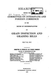Cover of: Hearings before the Committee on Interstate and Foreign Commerce of the House of Representatives on safety appliances. February 5-6 and 13, 1909