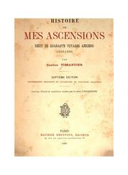 Cover of: Histoire de mes ascensions