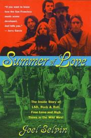 Cover of: Summer of love
