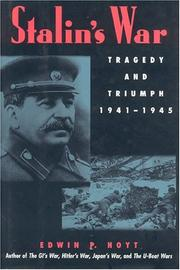 Cover of: Stalin's war: tragedy and triumph, 1941-1945