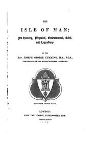 Cover of: The Isle of Man | J. G. Cumming