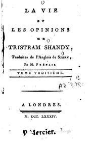 Cover of: The Life and Opinions of Tristram Shandy, Gentleman