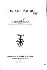 Cover of: London poems