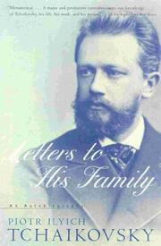 Cover of: Letters to his family: an autobiography