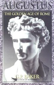Cover of: Augustus | G. P. Baker