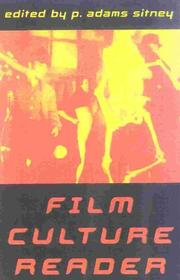 Cover of: Film culture reader