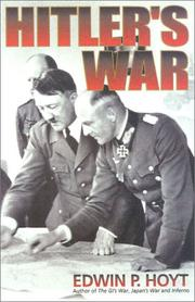 Cover of: Hitler's war