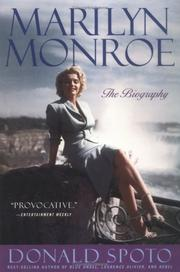 Cover of: Marilyn Monroe: the biography