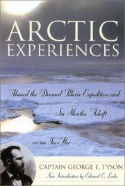 Cover of: Arctic Experiences | George E. Tyson