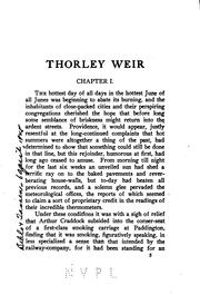 Cover of: Thorley Weir