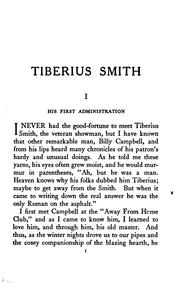Cover of: Tiberius Smith