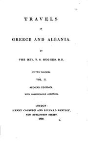Travels in Greece and Albania.