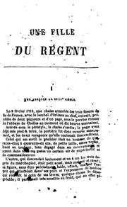 Cover of: The regent's daughter