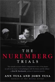 Cover of: The Nuremberg Trials