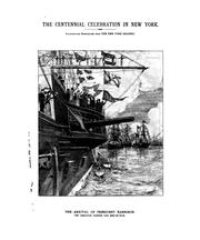 Cover of: The Washington centenary celebrated in New-York April 29, 30-May 1, 1889. |