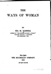 Cover of: The ways of woman