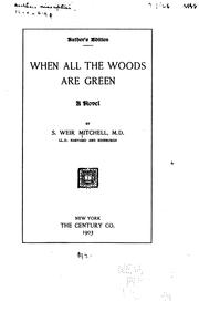 Cover of: Whan all the woods are green