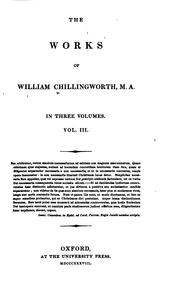 Cover of: The works of William Chillingworth | William Chillingworth