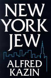 Cover of: New York Jew | Alfred Kazin