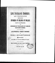 Cover of: Life insurance robbery