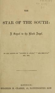 Cover of: The star of the south