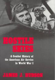 Cover of: Hostile Skies | James J. Hudson