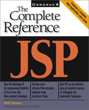 Cover of: JSP | Phil Hanna