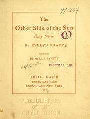 Cover of: The other side of the sun | Evelyn Sharp
