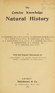 Cover of: Natural history