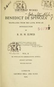 Cover of: Selected works: Translated from the Latin with an introd.