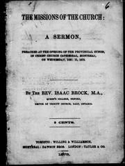 Cover of: The missions of the church