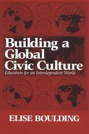 Cover of: Building a global civic culture