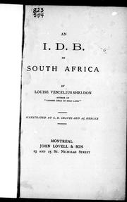 Cover of: An I.D.B. in South Africa |