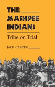 Cover of: The Mashpee Indians | Jack Campisi